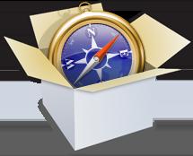 WebKit box logo
