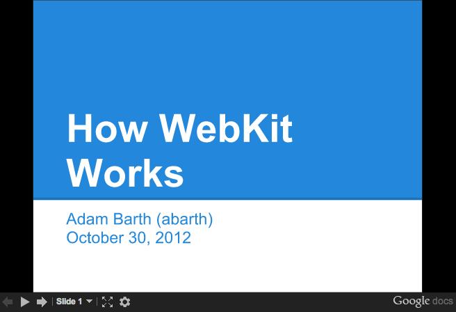 WebKit for Developers - Paul Irish